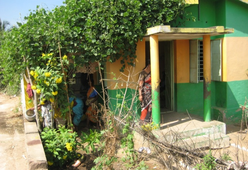 Rapport från äldrecentret i Panamadangi